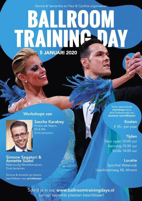 Ballroom Training Day 5 januari 2020